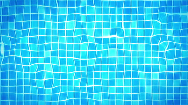 Swimming Pool Background Loop - Under water tiles (HD) video