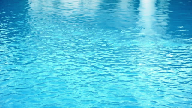Swimming pool caustics with reflections video