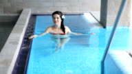 Swimming pool relaxation video