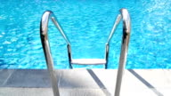 swimming pool stairs video