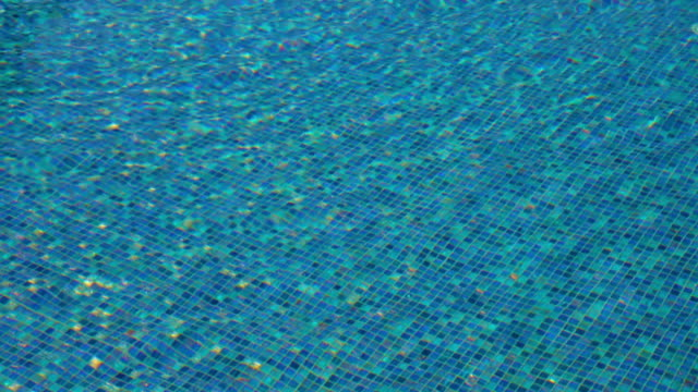 Swimming pool water background video