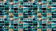Swimming Video Wall video