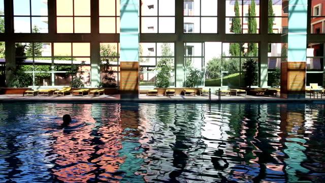Swimming Woman video