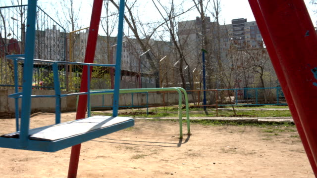 swing in play ground video