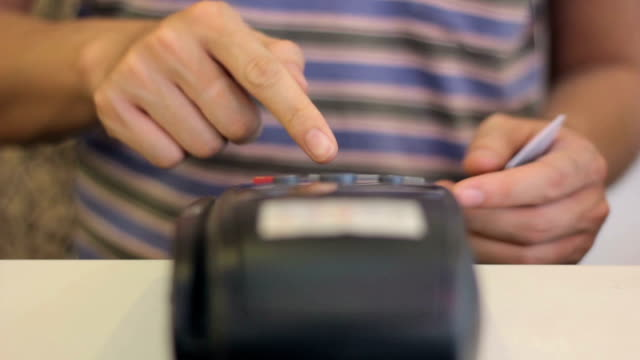 Swiping A Credit Card video