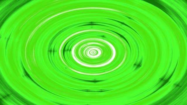 Swirling hypnotic circle animation video