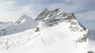 Swiss Alpine Alps mountain landscape video