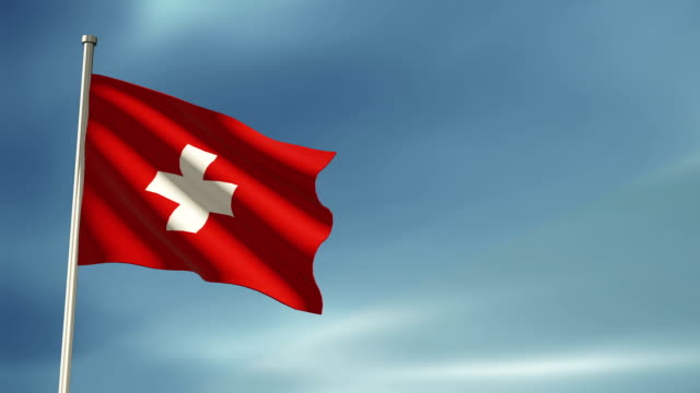 Swiss flag video