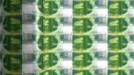 Swiss franc printing - animation video