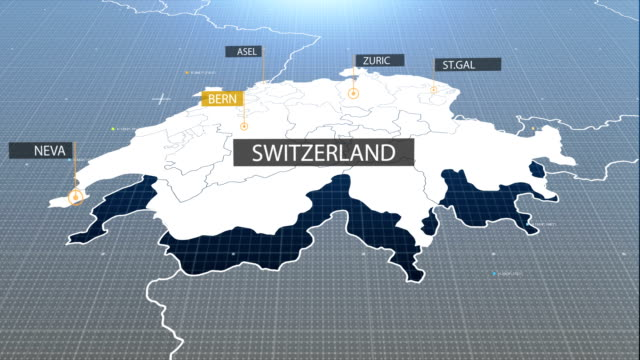 Swiss map video