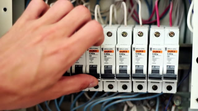 Switching Electric Breaker Box video