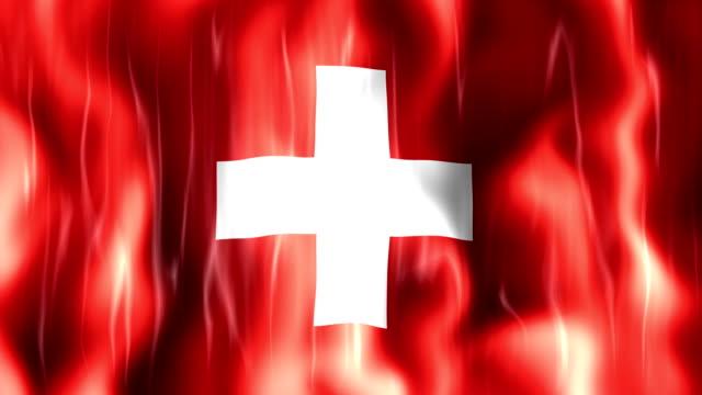 Switzerland Flag Animation video