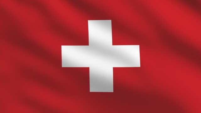 Switzerland Flag video