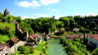 Switzerland HD video of Fribourg video
