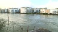 Swollen River Thames video
