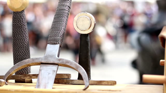 Swords and Fightings video
