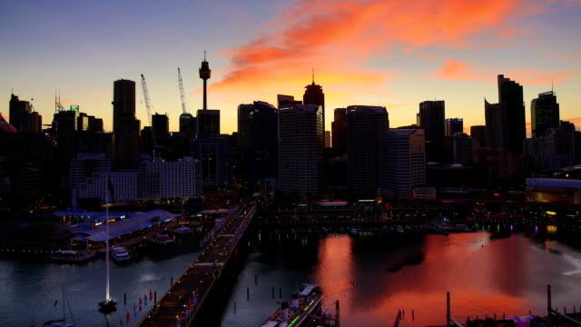 Sydney, Australia Sunrise Time Lapse video