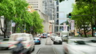 TIME LAPSE: Sydney Elizabeth Street traffic video