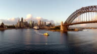 Sydney Harbor Aerial Footage video