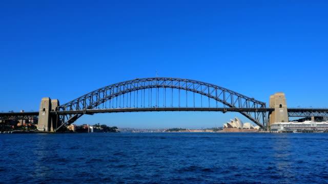 Sydney Harbor Bridge and Sydney Opera House video