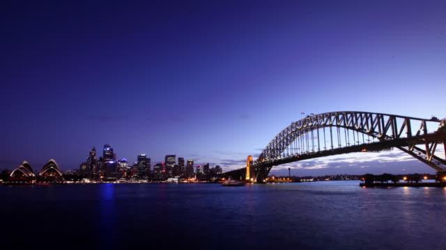 Sydney Harbor Sunset video
