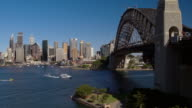 Sydney Harbour Bridge, Sydney, New South Wales, Australia video