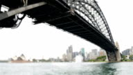 Sydney Harbour Bridge tilt-shift video