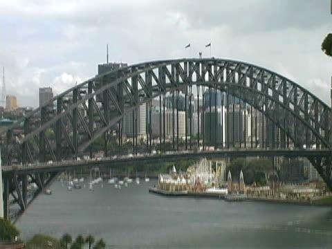 Sydney Harbour Bridge Traffic video