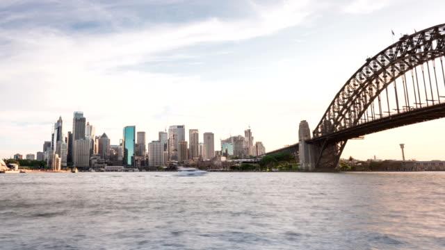 TIME LAPSE: Sydney skyline sunset moments video