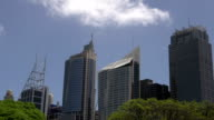 Sydney skyline time lapse from the botanic gardens video