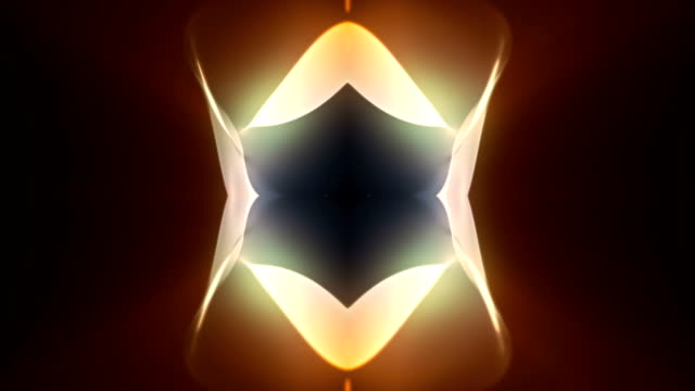 Symmetrical wavy/fiery background video