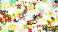 FLOWER TRANCE : symmetry, bright (LOOP) video