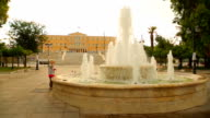 Syntagma Square in front of Greek Parliament, Athens culture and tourism center video