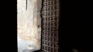 Syria - Aleppo, citadel gate video
