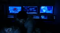 System control room monitoring video