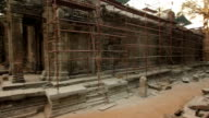 Ta Prohm Temple at the sunset video