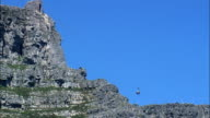 Table Mountain Aerial Cableway  - Aerial View - Western Cape,  City of Cape Town,  South Africa video