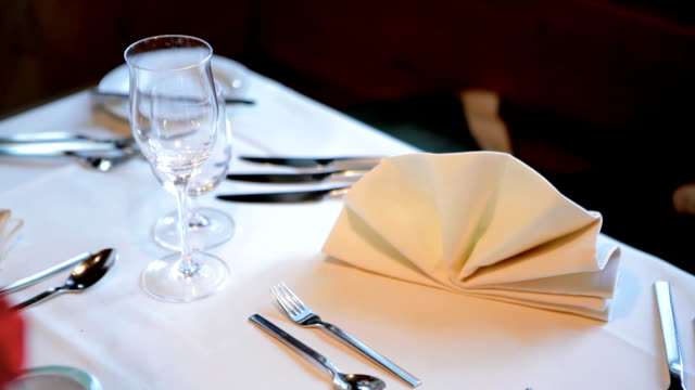 Table Place Setting video