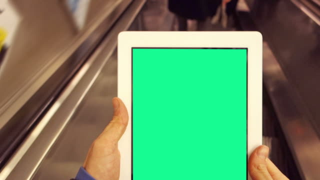Tablet escalator your message   ID video