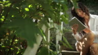 Tablet garden video
