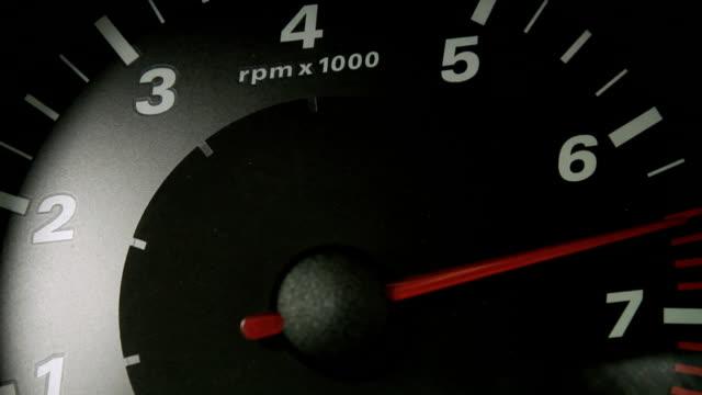 Tachometer RPM video