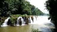 Tad Pha Souam the waterfall in Laos video