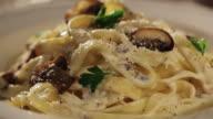 Tagliatelle with Mushrooms video
