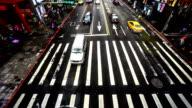 Taipei, China-Dec 1, 2015: People go across the busy Taipei downtown, Taiwan video