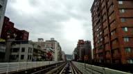 Taipei, China-Dec 1, 2015: The city scene in the Taipei city, Taiwan video