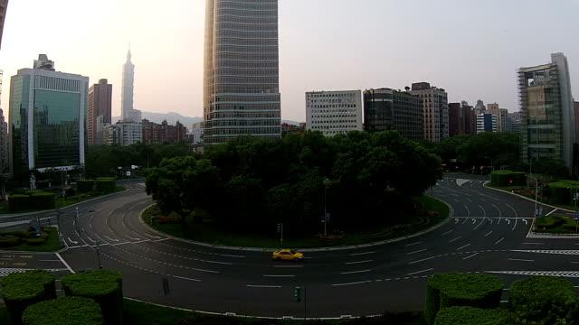 taipei city aerial photography video