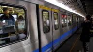 Taipei Metro Shilin Station.HD video
