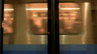 Taipei MRT coach full of passengers video