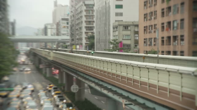 Taipei MRT timelapse video
