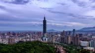 Taipei night to day video